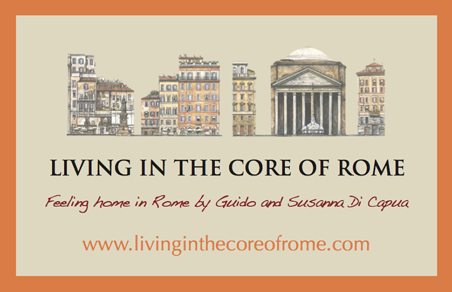 GP Studio Grafico - Grafica Brand Image - Biglietto visita Living in the core of Rome